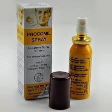 Obat kuat semprot Procomil Spray formula khusus pria untuk seks tahan lama, mencegah ejakulasi dini. Procomil spray cocok untuk pria yang menghindari obat kuat minum.