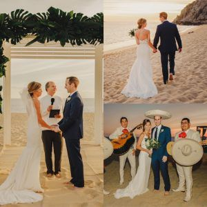 Lizzy and Reid | January 6th 2018  at Sandos Finisterra Los Cabos
