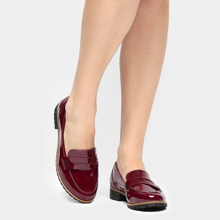 Compre Mocassim Mixage Solado Tratorado Vinho na Zattini a nova loja de moda online da Netshoes. Encontre Sapatos, Sandálias, Bolsas e Acessórios. Clique e Confira!