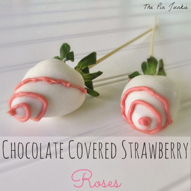 How To Make Chocolate Covered Strawberries That Look Like Roses