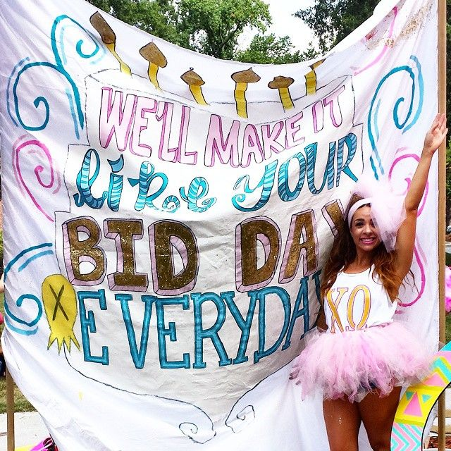 Katy Perry Bid Day literally perfect right down to her outfit