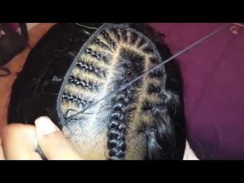 How To Sew In Weave Tracks For Invisible Part Sew In Step