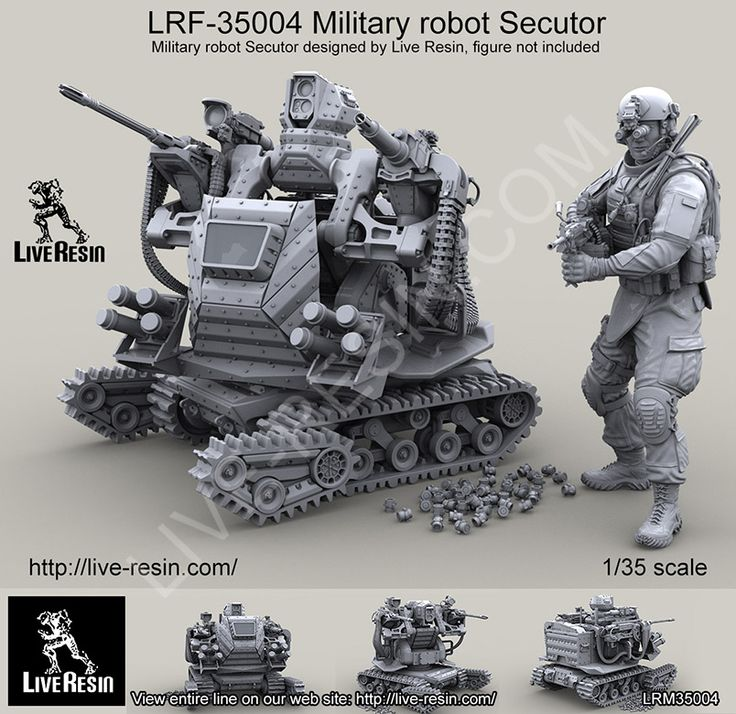 1/35 scale resin Military Robot Secutor ,now in stock!... Cool looking Model
