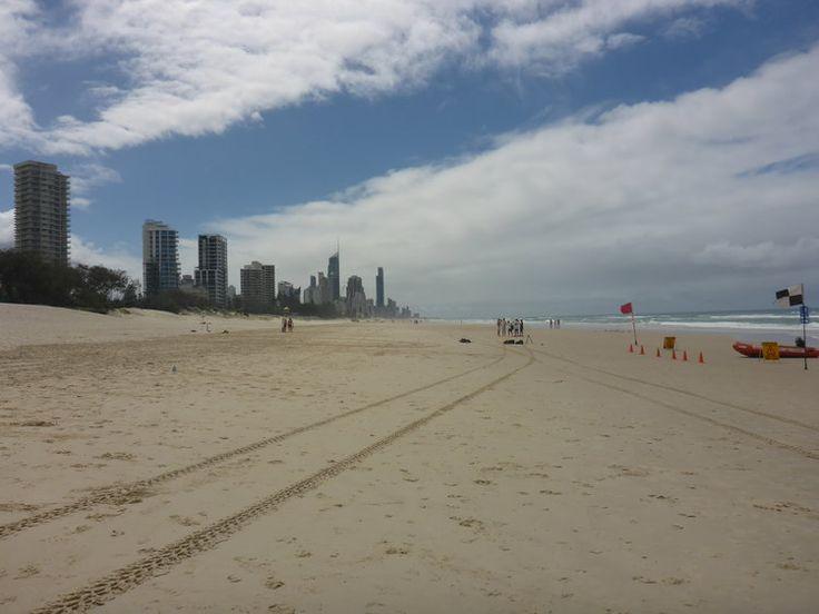 Beautiful Kurrawa on Australia's Gold Coast.