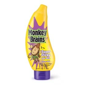 Monkey Brains GEL MONKEY B SUPER STICKY HAIR 340HR Aporta locura y un estilo radical al cabello creando un look sorprendente, acorde a tu creatividad y diferente todos los días