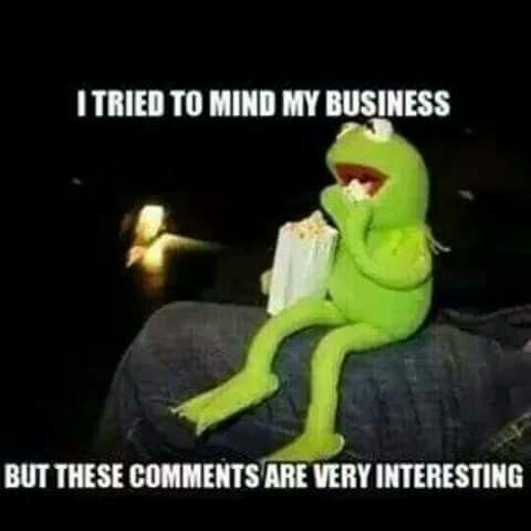 Kermit, popcorn