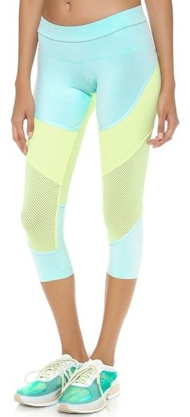 adidas by Stella McCartney Running 3/4 Leggings on shopstyle.com #fitness #workout