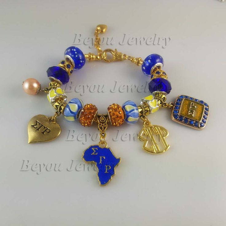 Newest   Sigma Gamma Rho Sorority   Bracelet SGR  charm bead  bracelet bangle 5pcs 1 lot