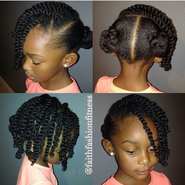 Terrific 1000 Images About Kids Natural Hair Styles On Pinterest Short Hairstyles For Black Women Fulllsitofus