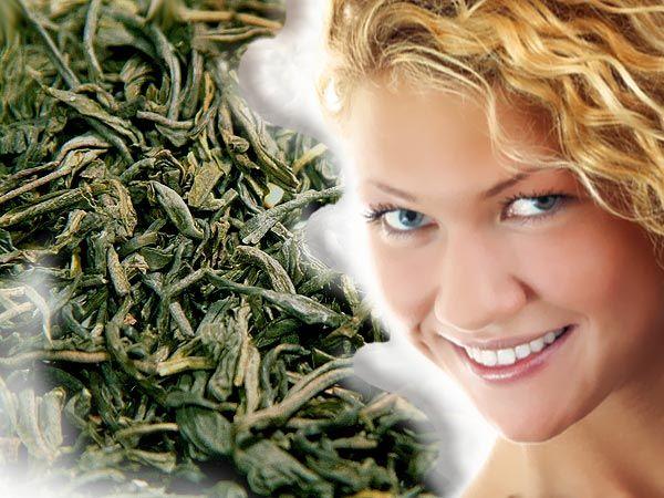 ЧАЙ ДЛЯ ВОЛОС  1 ст. ложку зеленого чая заливаем 2-я стаканами кипятка и…