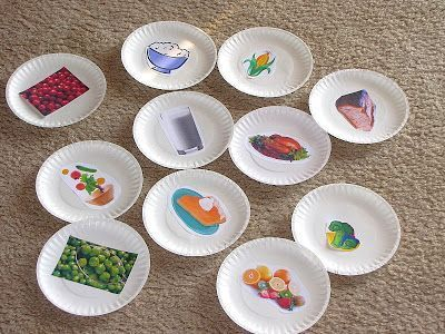 Yes Please, No Thank You practice game for Thanksgiving. Perfect for our students with autism and other special needs. Just print out some pictures or find in a magazine and glue on a plate. Have students practice passing them out and saying please, thank you, or no thank you. Such a GREAT activity for younger and older students with special needs. Read more at: http://www.thingstoshareandremember.com/yes-please-no-thank-you/