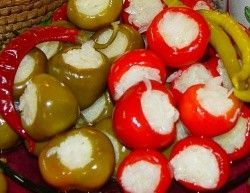 Káposztával töltött paprika savanyúság, Vecsési savanyúságok