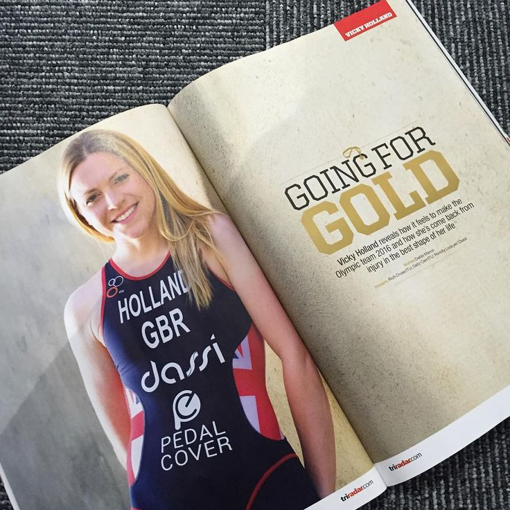Going for gold - Triathlon - Vicky Holland - Team GB - Road to Rio #teamdassi