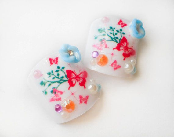 I wouldn't use fake toe nails all year round (fungus); but I would use them for a Wedding or a BBQ.   Fake Toenails Fake Nails False Toenails Acrylic Nails by niceclaws, $10.95