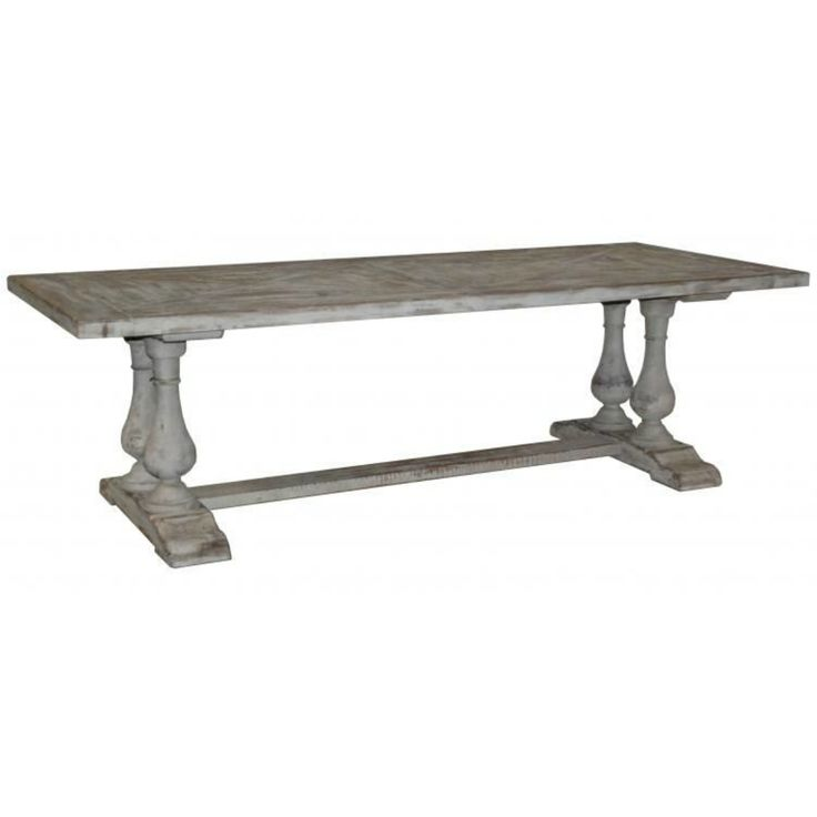 Windsor Trestle Dining Table (96w X 39d X 30h)