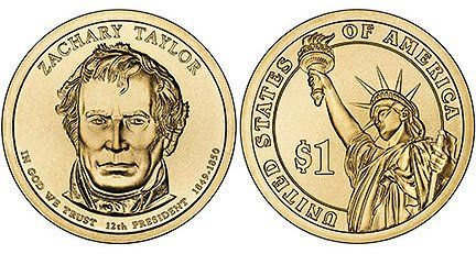 2009 D MINT ZACHARY TAYLOR PRESIDENTIAL DOLLAR COIN UNC by US Mint:   Zachary Taylor, 12th president (1849-1850)