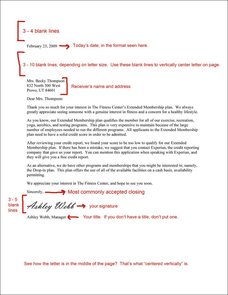 Best 25+ Formal business letter format ideas on Pinterest Formal - example of a business report format