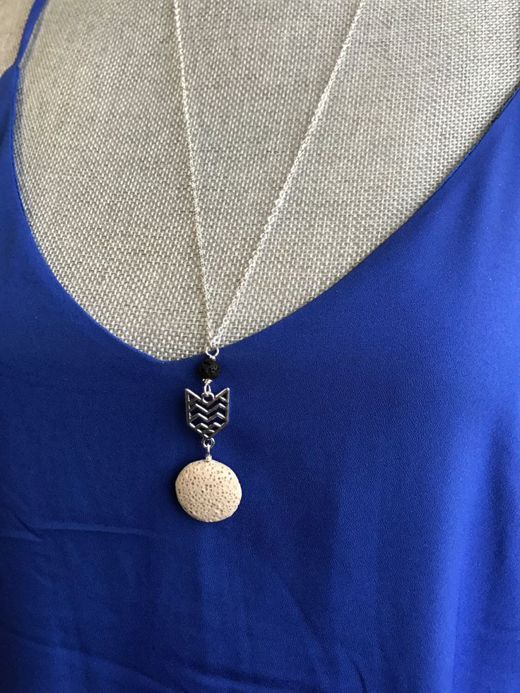 Diffuser necklace | Lava stone Necklace | Chevron necklace | Aromatherapy necklace | by BarefootCreationsDV on Etsy https://www.etsy.com/ca/listing/503265225/diffuser-necklace-lava-stone-necklace
