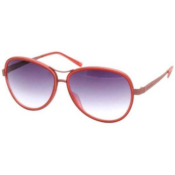 Italia Independent II 0073 050/000 Sunglasses (11.480 RUB) ❤ liked on Polyvore featuring accessories, eyewear, sunglasses, strawberry coral, italia independent eyewear, lens glasses, italia independent glasses, italia independent sunglasses and italia independent