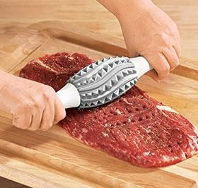 punish the meat before you ingest it