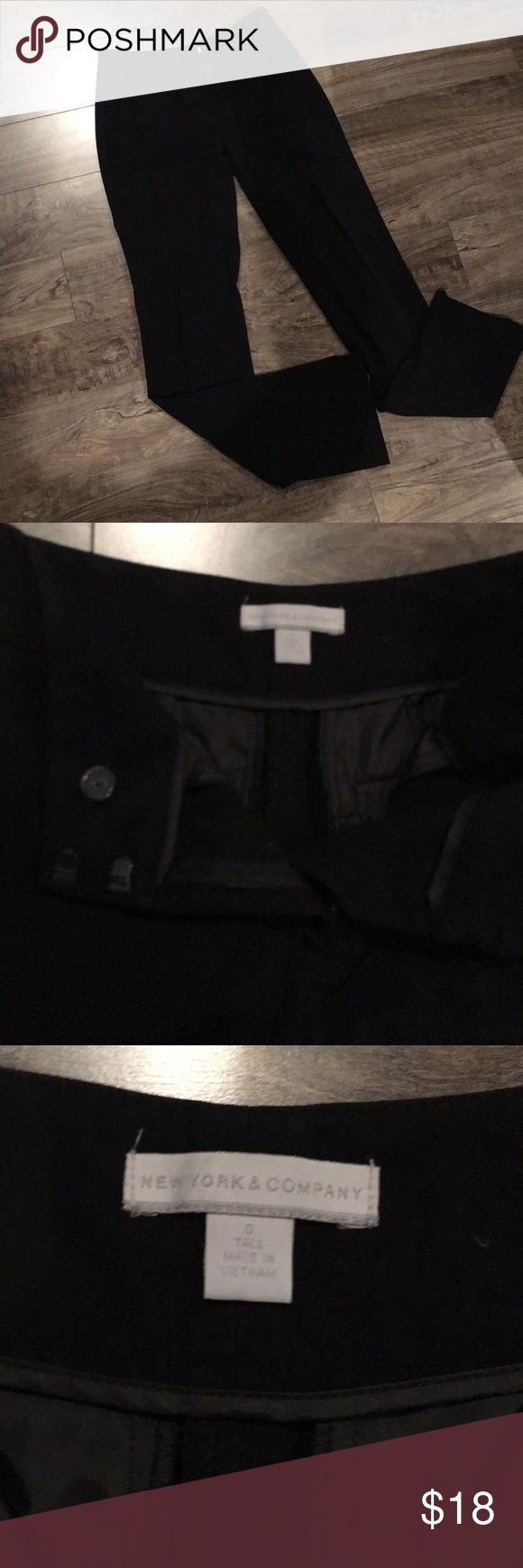 NWOT NY & Co Black Bootcut Tall Pant These are TALL pants. Never worn New York & Company Pants Trousers
