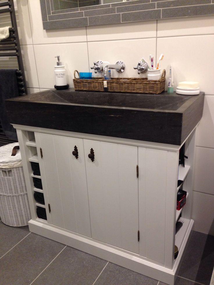25 beste idee n over badkamer wastafel kasten op pinterest keuken knutselen onder - Badkamer meubel model ...