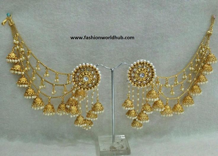 Bahubali Anushka ear rings - just INR 1150 RS. For details please reach out 80122 86177.