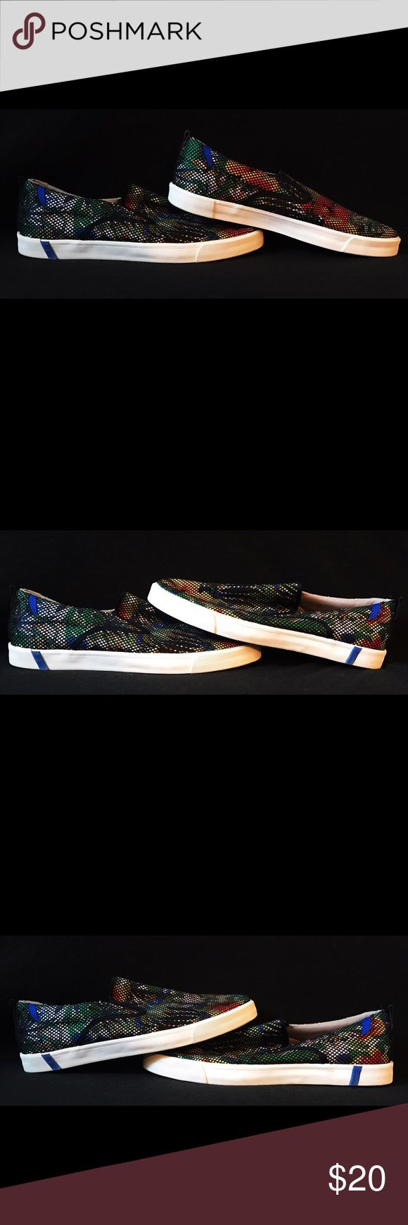 ZARA FLORAL SLIP ONS NWOT - Zara Man Floral Slip On Sneakers.             Never been used! Bought them on the Zara app. No box - paper inside to preserve shape. Zara Shoes Loafers & Slip-Ons