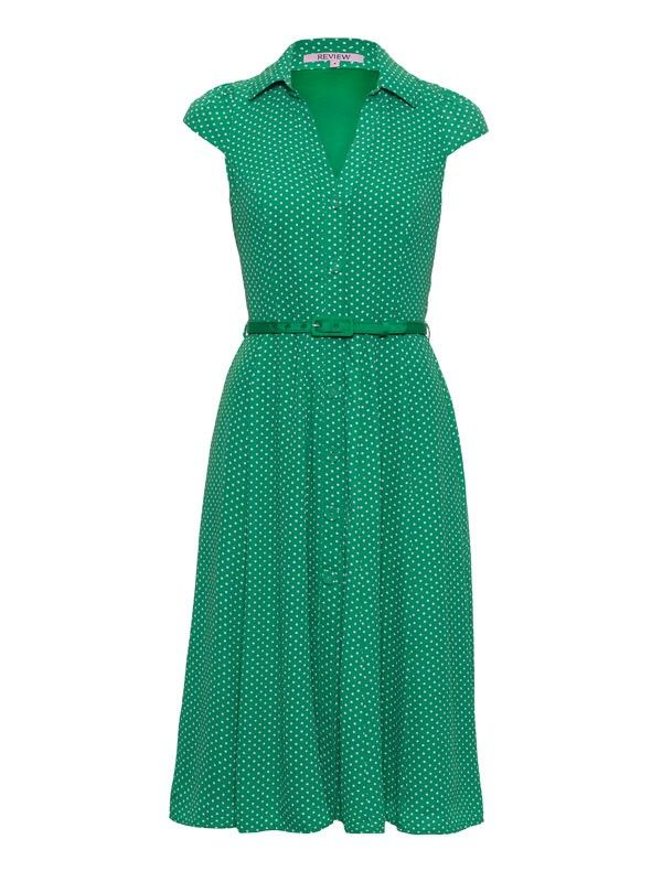 Review Australia | Pebbles Dress Emerald