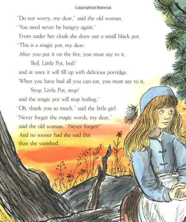 The Magic Porridge Pot (Paul Galdone Classics): Paul Galdone: 0046442288057: Amazon.com: Books