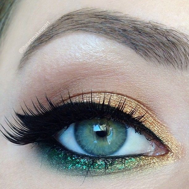 .@iheartmakeupart   Close up and details of my Wizard of Oz Emerald City inspired look I used all...   Webstagram - the best Instagram viewer