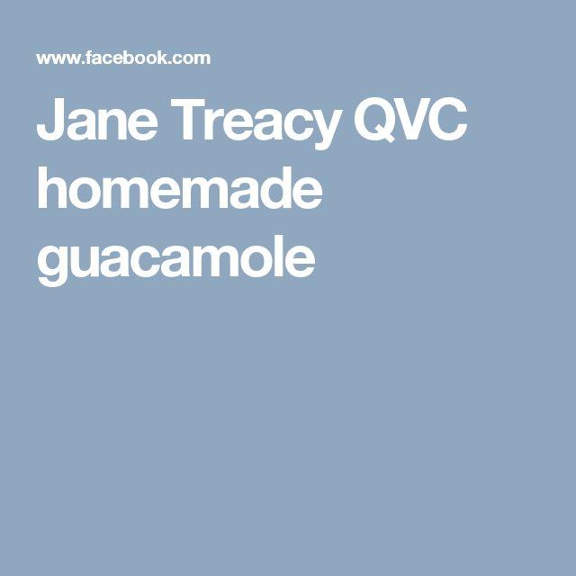 Jane Treacy QVC homemade guacamole