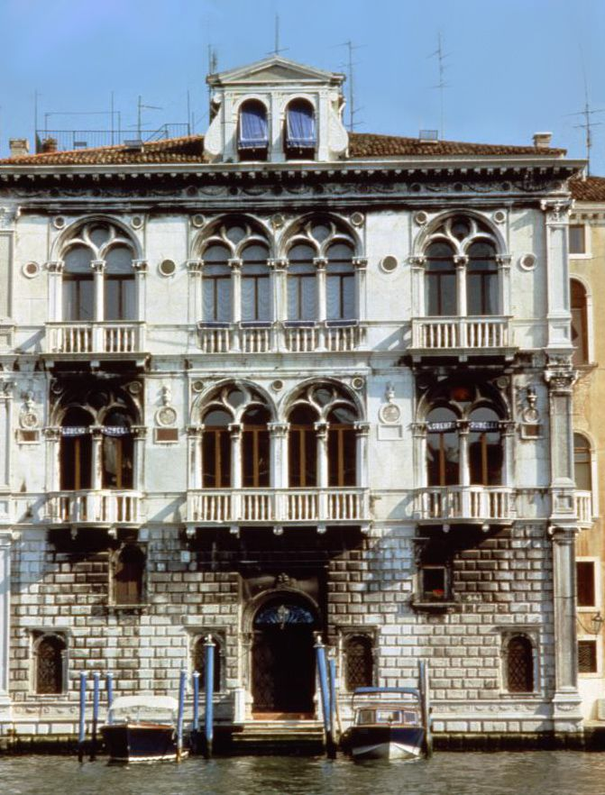 1966 - Palazzo Corner Spinelli becomes the Rubelli headquarters. by Rubelli