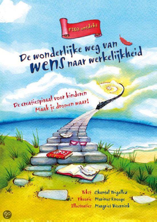 De #Creatiespiraal voor #kinderen: Filo ontdekt, de wonderlijke weg van wens naar werkelijkheid.