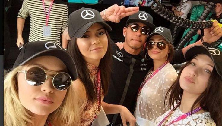 Gigi Hadid is New Girlfriend of Lewis Hamilton?