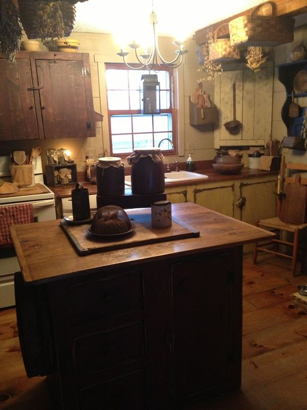 Primitive Kitchen Ideas 385 best primitive kitchens♥ images on pinterest | primitive