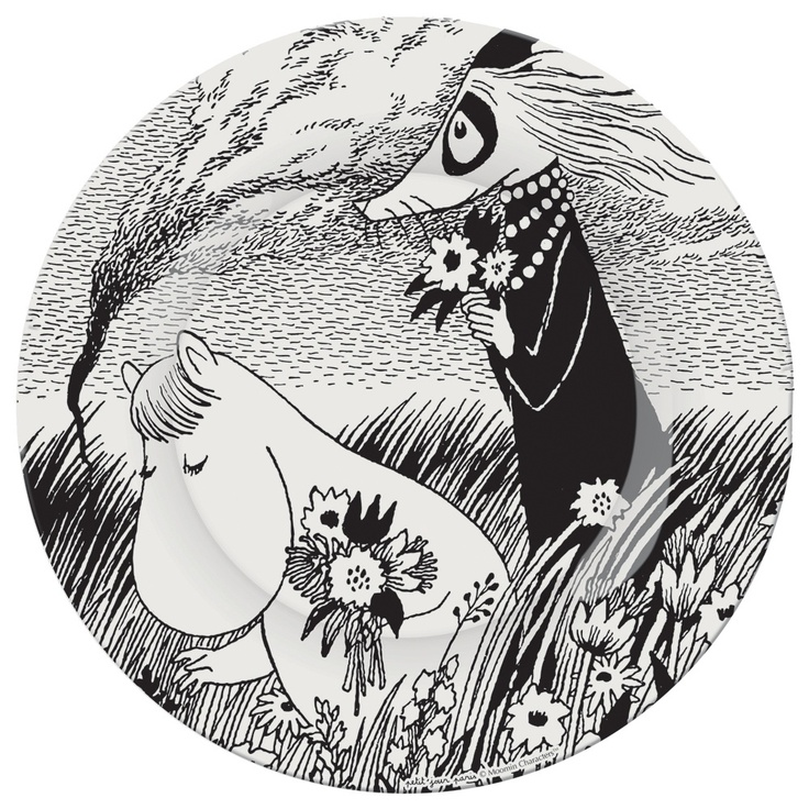 Moomin Plate   A Beautiful Day   Other   Bloomsbury Store