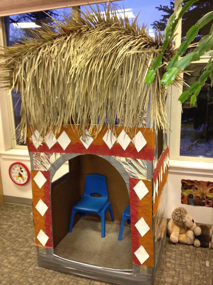 Preschool African Hut!