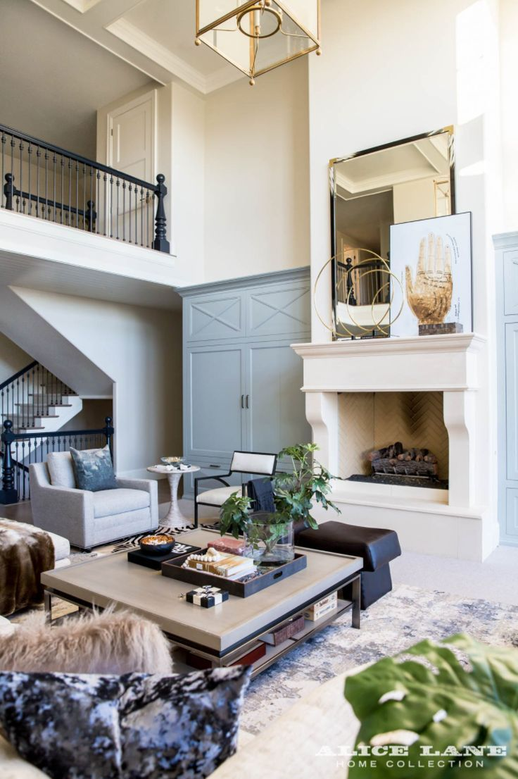 Making your living room chic, casual and classy! Ivory Lane ...