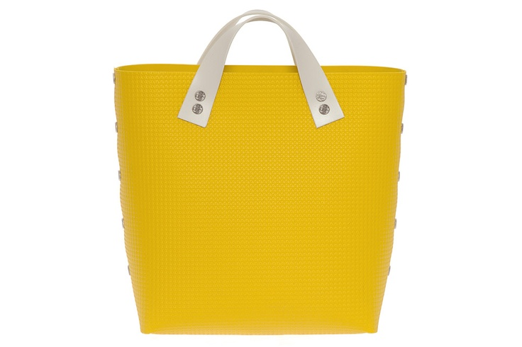 Bernarda Handbag TWO SHORT Yellow