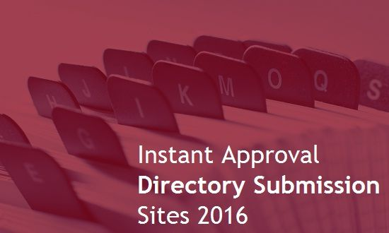 List of 251 of free Instant Approval search engine friendly directory submission site for you to submit your website. Here is the list > http://www.nirmalspatel.com/2016/06/251-instant-approval-directory.html