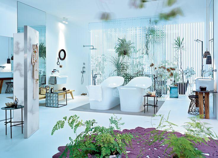 luxury-and-feminine-bathroom-design-ideas-from-hansgroheBathroom Design, Bathroom Furniture, Luxury Bathroom, Modern Bathroom, Interiors Design, Dreams Bathroom, Bathroom Ideas, Bathroom Decor, Design Bathroom