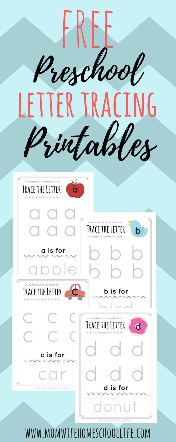 Trace the Letter: Lowercase Alphabet Tracing | Charlotte Mason ...
