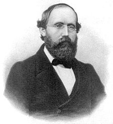 (Georg Friedrich) Bernhard Riemann. Other source: http://www-history.mcs.st-andrews.ac.uk/Biographies/Riemann.html