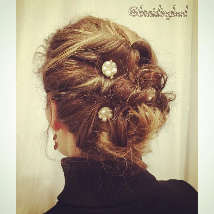 Day 5 of #givethankshairchallenge of @hair_by_lori and @breathtakingbraids the style is supposed to be any style with knots. Mine has knots and ponytails and twists all mixed in together   #braidinghair #braidideas #instabraids #lettikampaus #letitys #hairdo  #hairstyles #flette #plaitedhair #suomiletit #featuremeisijatytot #featuremejehat #hotbraidsmara #braidingchallenge #featureaccount_ #braidinginspiration