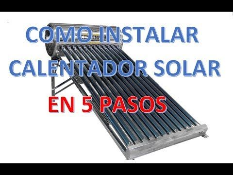 COMO INSTALAR CALENTADOR SOLAR EN 5 PASOS SUSCRIBIRTE! https://www.youtube.com/channel/UCrjl40ia9t0g0K6aAMcKC0w?sub_confirmation=1 PREGUNTAS FRECUENTES DE LOS CALENTADORES SOLARES https://www.youtube.com/watch?v=t50C_1VJs5g COMO CONECTAR TU CALENTADOR SOLAR https://www.youtube.com/watch?v=kuhrYov7YqM AMIGOS MUCHAS GRACIAS POR SU APOYO!! MUCHAS GRACIAS!! - Facebook @yoomellamojuan :::: http://ift.tt/2EfJCYo - Instagram @yoomellamojuan :::: http://ift.tt/2FKh8Tz - Twitter @yoomellamojuan…