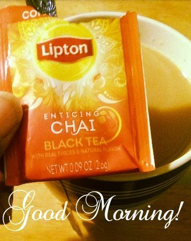 I'm sooooo late.  This tea is soooo good!  It was a sample inside of the regular lipton tea.   I'll be looking for this one next time