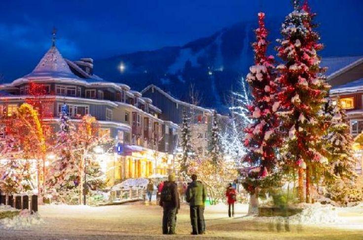 Whistler Village  Christmas ...