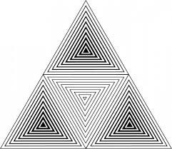 geometric triangle art - Google Search