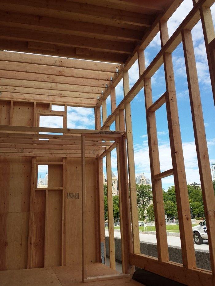 Loft Framing | Tiny House Loft | Pinterest | Tiny House Loft